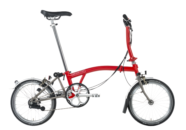Velos pliants, Brompton Superlight